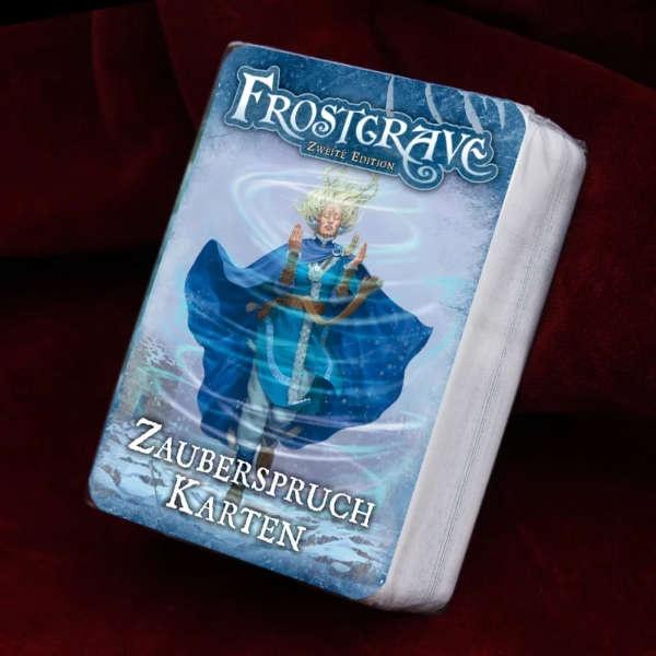 Frostgrave 2. Edition Zauberspruch Karten DEUTSCH