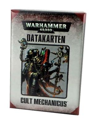 WH40K Datakarten: Cult Mechanicus