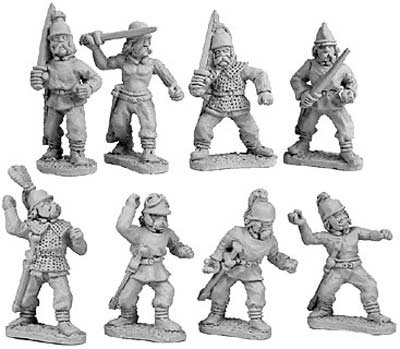 Gallic Warband (random 8 of 8 designs)