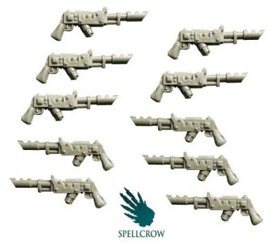 Laser Guns (10)