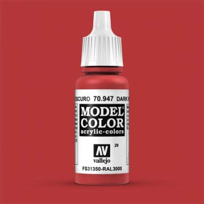 Model Color 029 Orientrot (Red) (947)