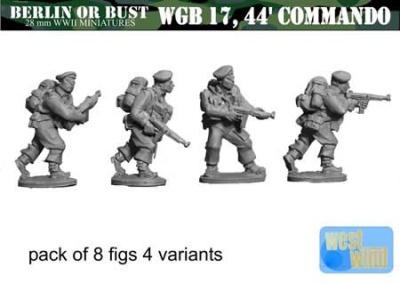 British Commando with Thompson, Beret