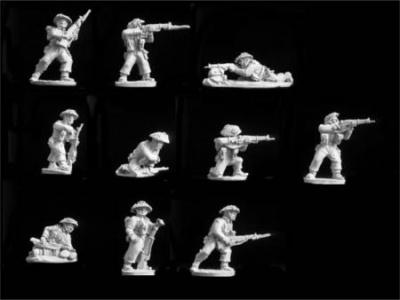 British Rifles Firing