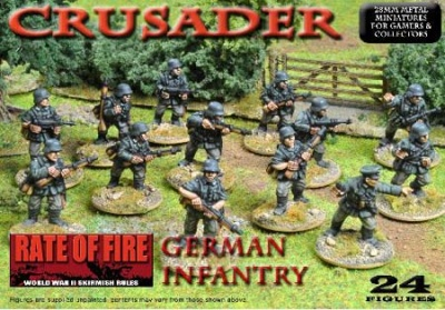 Crusader WWII: Early German Infantry Box Set