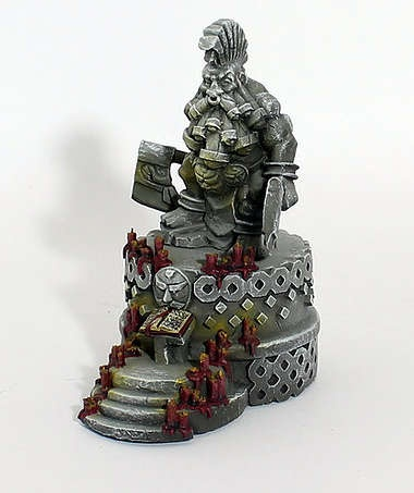 Dwarf Berserker Altar