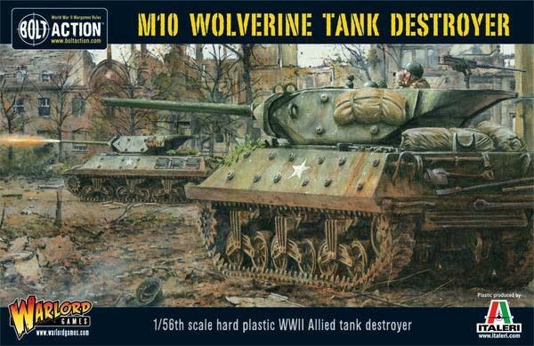 M10 Tank Destroyer/Wolverine  (Plastic) (1)