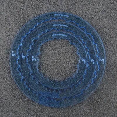 Ring Templates - blau (3)