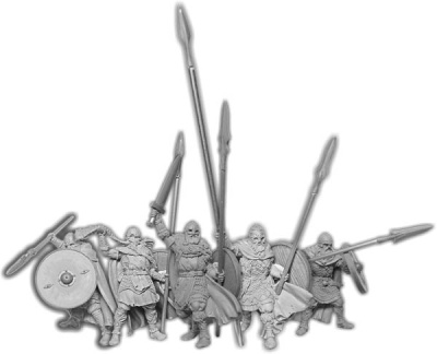 Veterans of Mierce, Duguth Unit (5) (OOP)