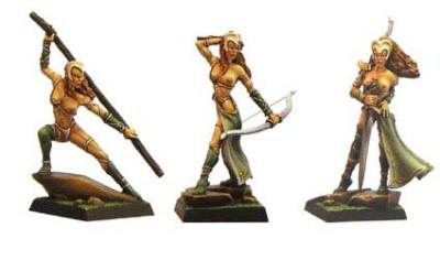 Die Amazone (Dreistufen Charakter)