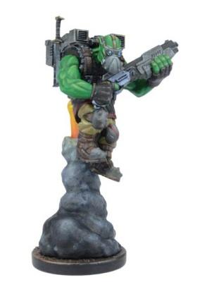 Chief Mauhulakh, Orc Sky Scraper