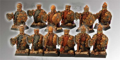 Boyars set of 6 miniatures