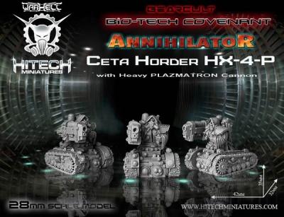 28 mm Annihilator Ceta Horder HX-4-P