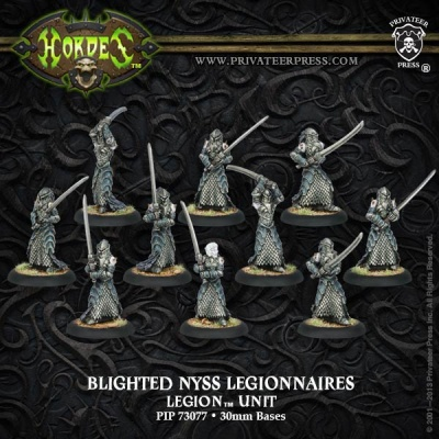 Legion of Everblight Blighted Nyss Legionnaires Unit Box(10)