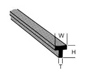 T Profil (25cm klein)