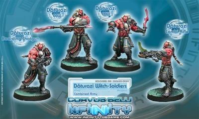 Daturazi Witch-Soldiers (4) (CA)