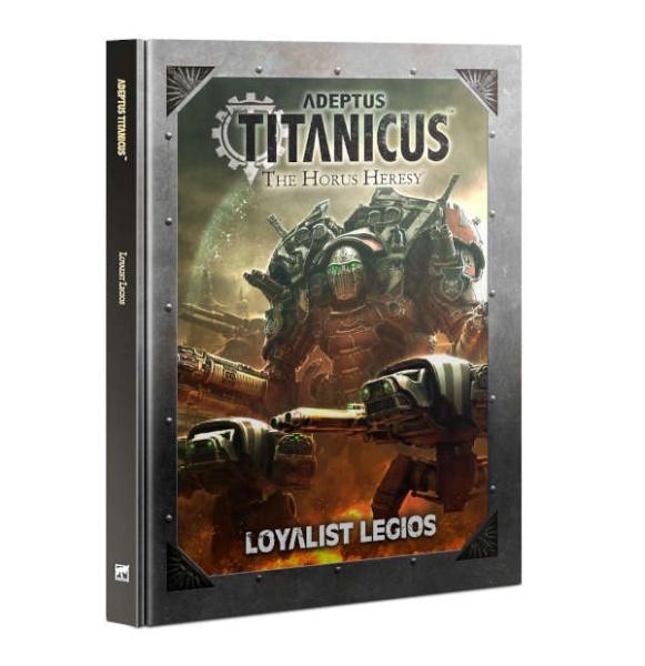 Adeptus Titanicus Loyalist Legios ENGLISCH