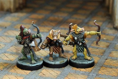 Pig-Faced Orc Archers (3)