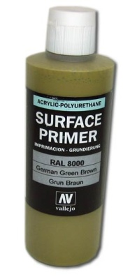 Vallejo Primer German Green Brown (Polyu.) (200ml)