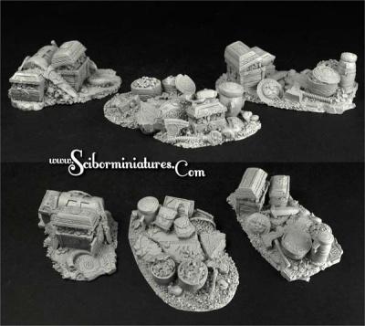 Dwarven Ruins Terrain #4