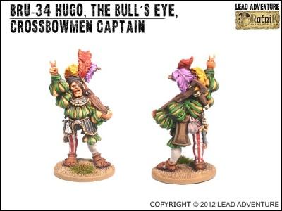 Hugo the Bull's-eye, Crossbowmen Captain (1)