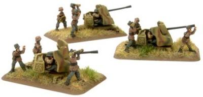 SS-3.7cm FlaK43 Anti-aircraft Gun Platoon (x3)