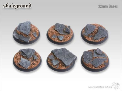 Shaleground, round 32mm (5)