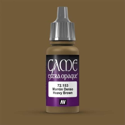 Game Color Extra Opaque Heavy Brown 17 ml