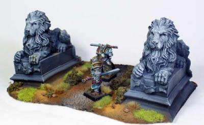 Löwenstatuen (2)