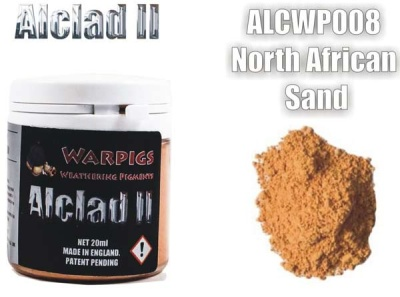 Alclad II PIGMENT: North Africa Sand