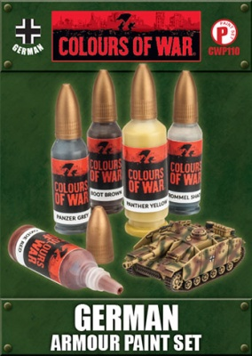 German Armour Paint Set (5)