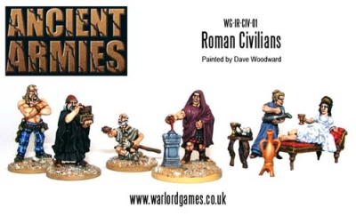Roman Civilians (6) (OOP)