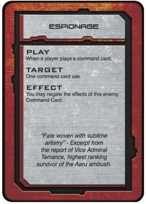 Shaltari Command Cards (english)