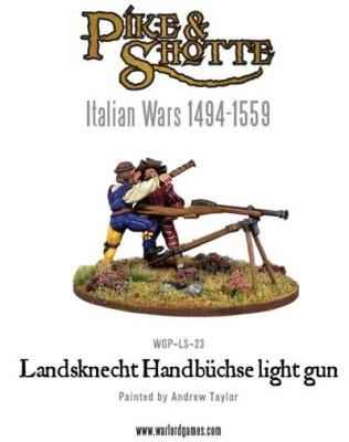 Landsknecht Handbuchse light gun