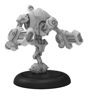 Destructotron - Riot Quest Gunner (metal/resin)