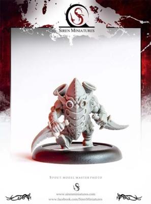 Spout - Masked Dwarf w Daggers RESIN