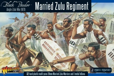 Married Zulu Regiment plastic boxed set (32)