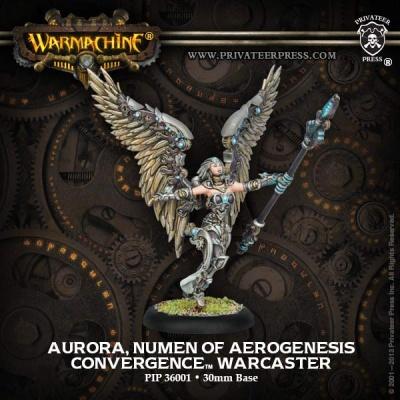 Cyriss Aurora, Numen of Aerogenesis, Warcaster (1)