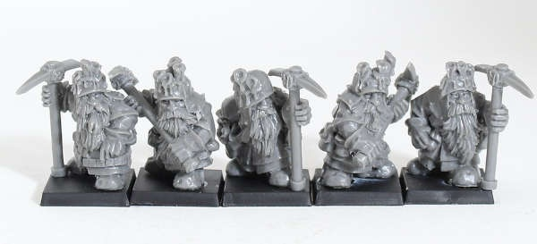 Dwarven Miners (5)