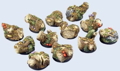 Forest Bases, Round 25mm (5)