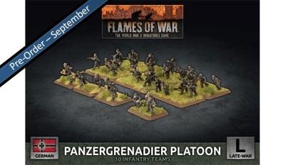 Panzergrenadier Platoon (plastic)