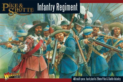 Pike & Shotte Infantry Regiment plastic box (40)