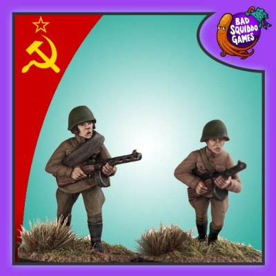 Female Soviet Infantry with SMG (2)