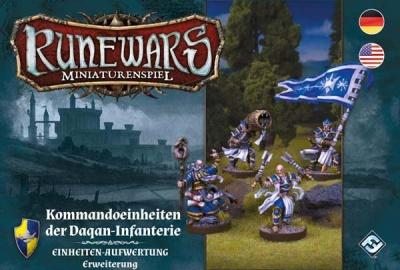 Runewars - Kommandoeinheit der Daqan-Infanterie