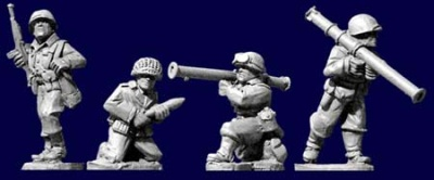 U.S. Inf. Bazooka Team (4)