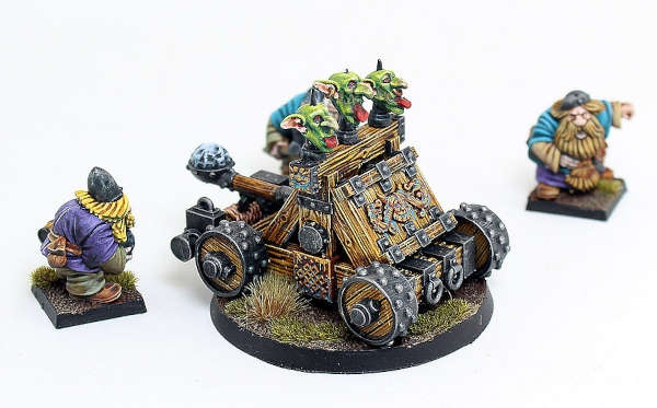Dwarf Stone Thrower