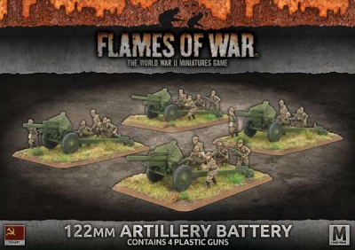 122mm Artillery Battery (Plastic)