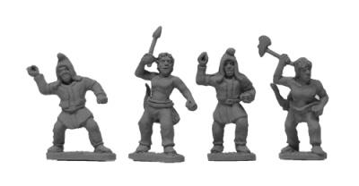 Scythian Subject Infantry (random 8 of 4 designs)