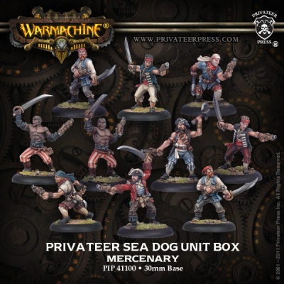 Mercenary Privateer Sea Dog Crew Unit (10)