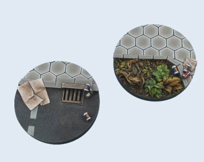 Urban Rubble Bases, 55mm (1)