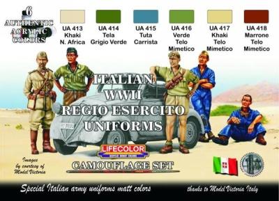 """Camouflage Set  """"Italienische Uniformen WWII"""""""